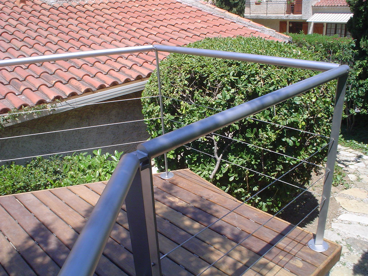 Garde corps safm localicsol for Cable pour terrasse